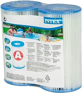 Intex プール用フィルターカートリッジを入力してツインパック