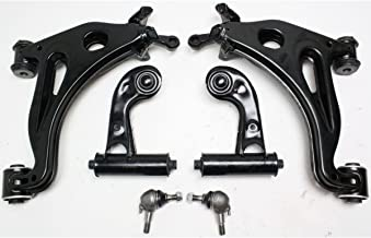 Diften 511-A0423-X01 - New Control Arm Ball Joint Suspension Kit 6-PC Front Mercedes With bushing(s)