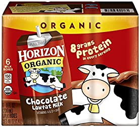 Horizon Organic Chocolate Aseptic Drink, Low Fat, 48 Ounce