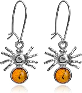 amber spider jewelry