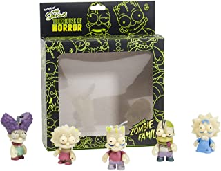 Kidrobot The Simpsons GID Zombie Family Action Figure, 5-Pack