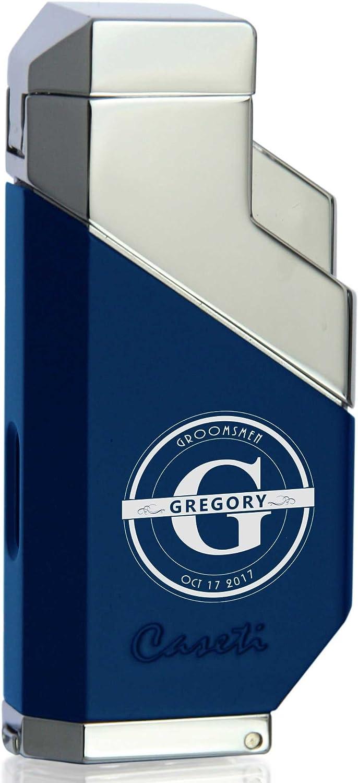 Personalized Groomsmen Max 69% Brand Cheap Sale Venue OFF Caseti Cozmo Triple Matte Flame - Lighter