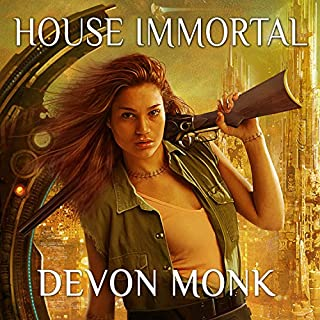 House Immortal     House Immortal, Book 1              By:                                                                                                                                 Devon Monk                               Narrated by:                                                                                                                                 Leslie Carroll                      Length: 10 hrs and 50 mins     117 ratings     Overall 4.1