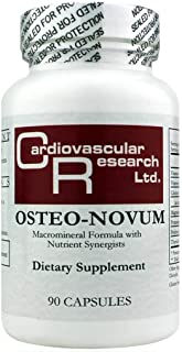 Cardiovascular Research Osteo-Novum, White, 90 Count