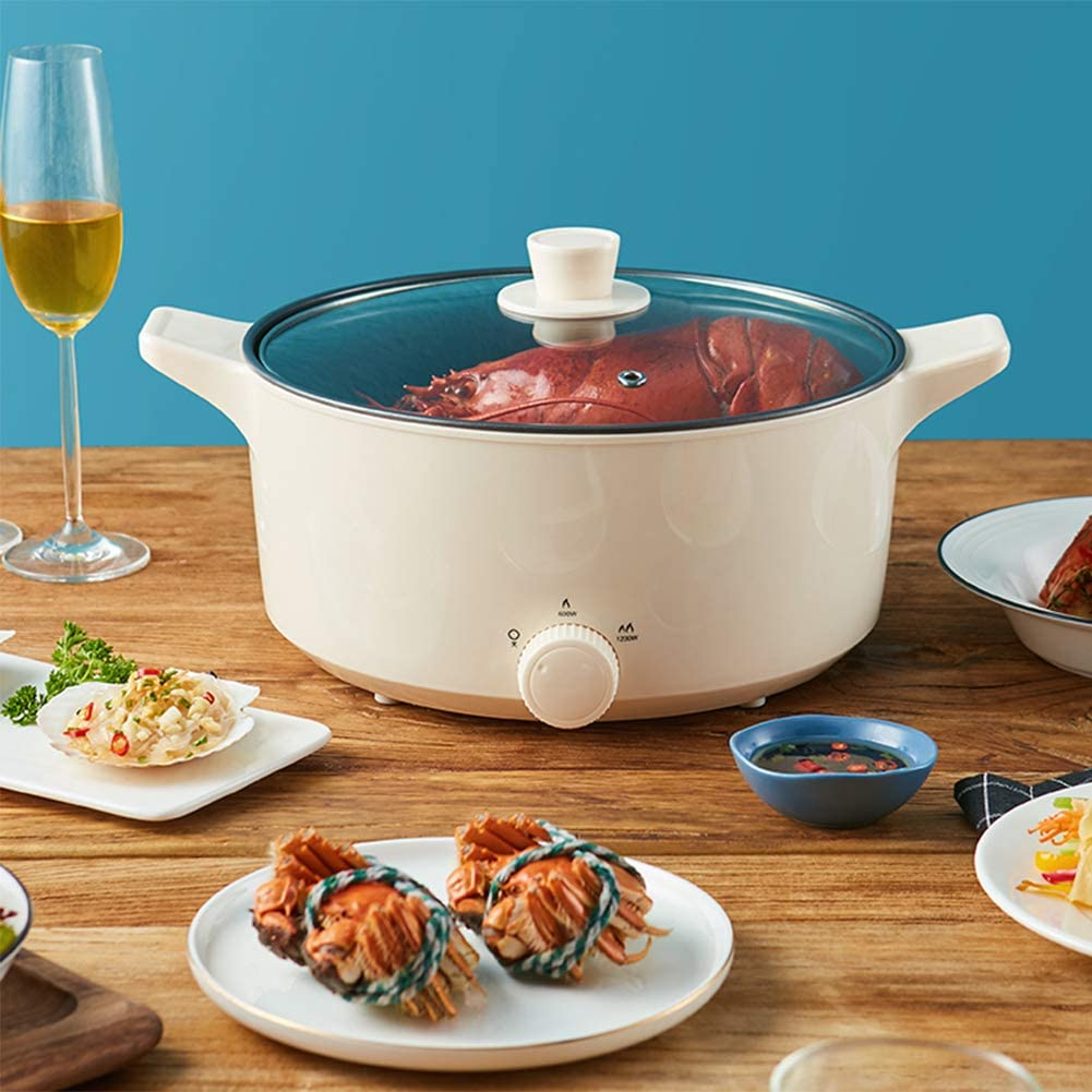 DBM-CXG Electric hot Pot Frying Import Household pan sold out Multi-Fu