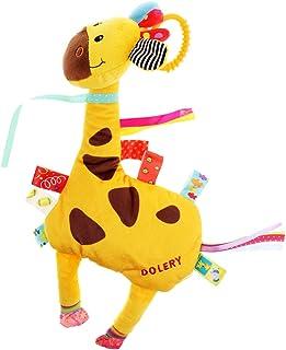 simhoa Baby Crib Stroller Cot Buggy Pram Animal Hanging Rattles Kid Toy - Giraffe, as described