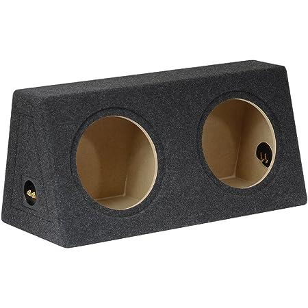 Geschlossenes Doppel Subwoofer Leergehäuse 10 25cm 2x20l Audio Hifi