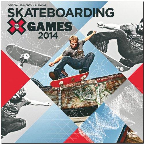 Skateboarding 2014 - Skateboarden: Original BrownTrout-Kalender [Mehrsprachig] [Kalender]