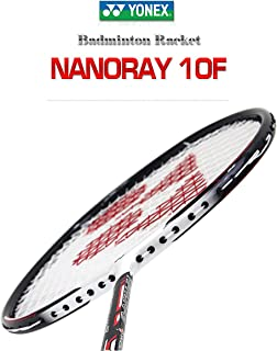 Yonex NANORAY 10F NEW Badminton Racket Red 2017 Racquet 4U/G5 Pre-strung with a Half-length Cover (NR10F-RED)