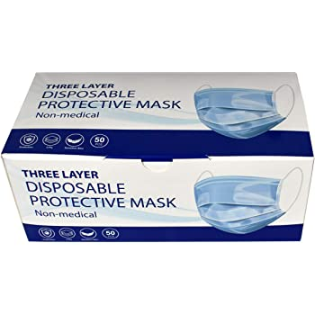 Disposable Face Masks | Box Of 50