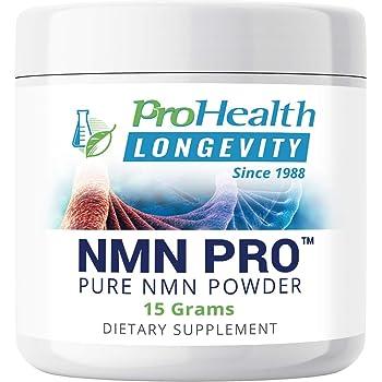 ProHealth NMN Pro Powder (15 Grams) Nicotinamide Mononucleotide | NAD+ Precursor | Supports Anti-Aging, Longevity and Energy | Non-GMO