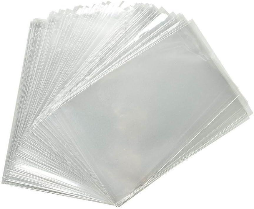 kgpack 200x Bolsas de plástico de celofán Transparente 7 x 10 cmBolsitas de Bolsas de plástico para Galletas Galletas Dulces Tortas de Dulces Magdalenas de Chocolate PiruletaBolsas de Decoracións