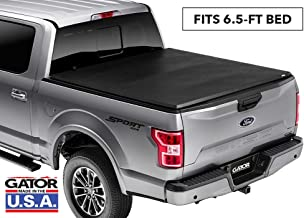 Gator ETX Soft Tri-Fold Truck Bed Tonneau Cover | 59302 | 2009 - 2012 F-150 6.5' bed without rail system, does not fit flareside | MADE IN THE USA