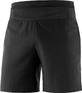 [サロモン] ショートパンツ ハーフパンツ XA TRAINING SHORT MEN (エックスエー トレーニング ショート メンズ) Black/Reflective S