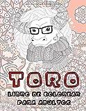 Toro - Libro de colorear para adultos