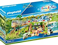 CHILD-FRIENDLY DESIGN: Made especially for tiny hands, children over the age of four will love these easy to grip, colourful pieces with rounded edges for safe play GIRAFFE & PENGUIN ENCLOSURES: Play with the highly detailed animal figures, including...