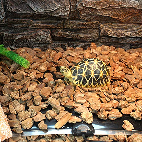 Forliver Reptile Pet Heating Pad Mat Bed, 20W 110V US Plug Reptile Under Tank Warmer Mat Heating Mat with Temperature Controller (20W- 16.5x11 in)