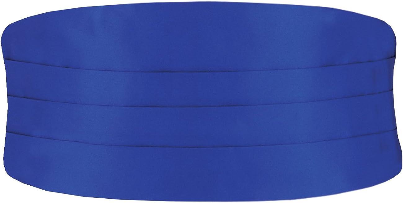Dobell Mens Royal Blue 28-42in Special price Regular Fit trust Cummerbund