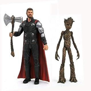 Thor & Teenage Groot (Avengers Infinity War) Diamond Select Action Figure