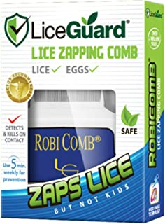 LiceGuard RobiComb Electronic Lize Zapping Comb 1 ea (Packs of 2)