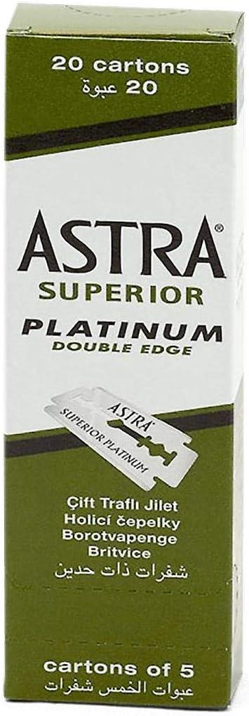Lametta da barba Astra Superior Platinum