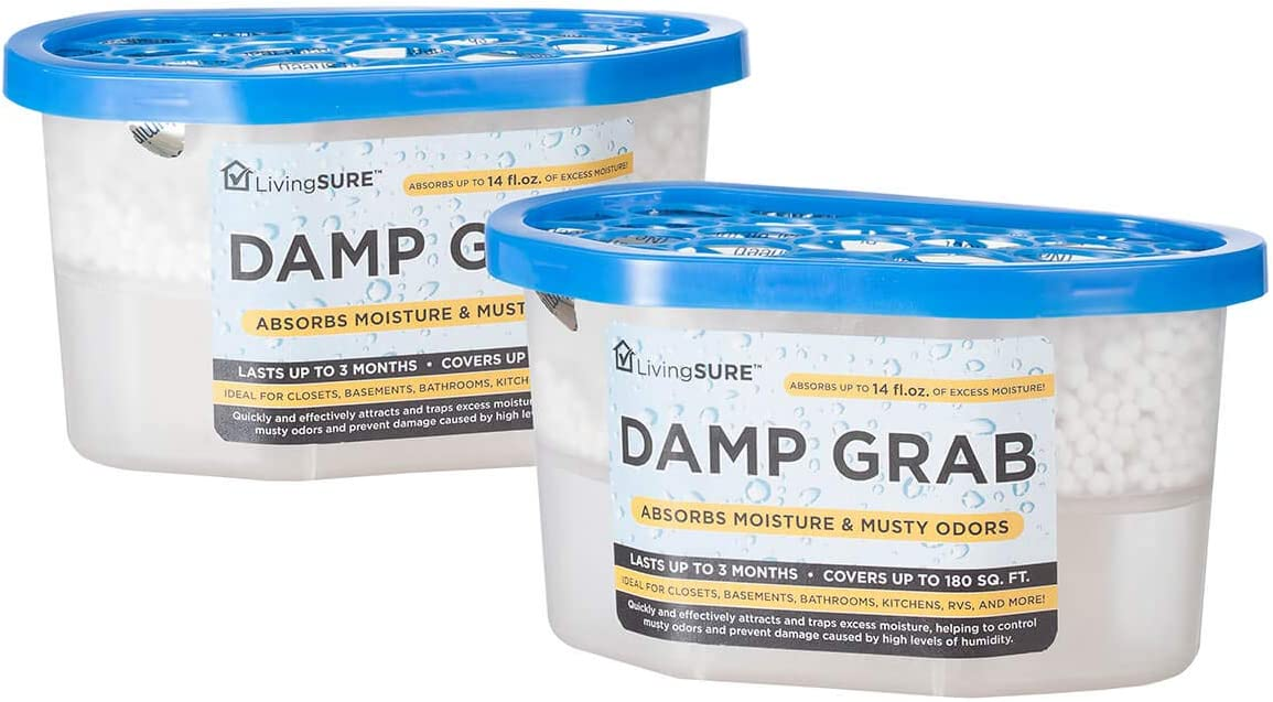 Damp Easy-to-use Grab Dehumidifier - Pack Control of 2 Moisture Fragrance Excellent