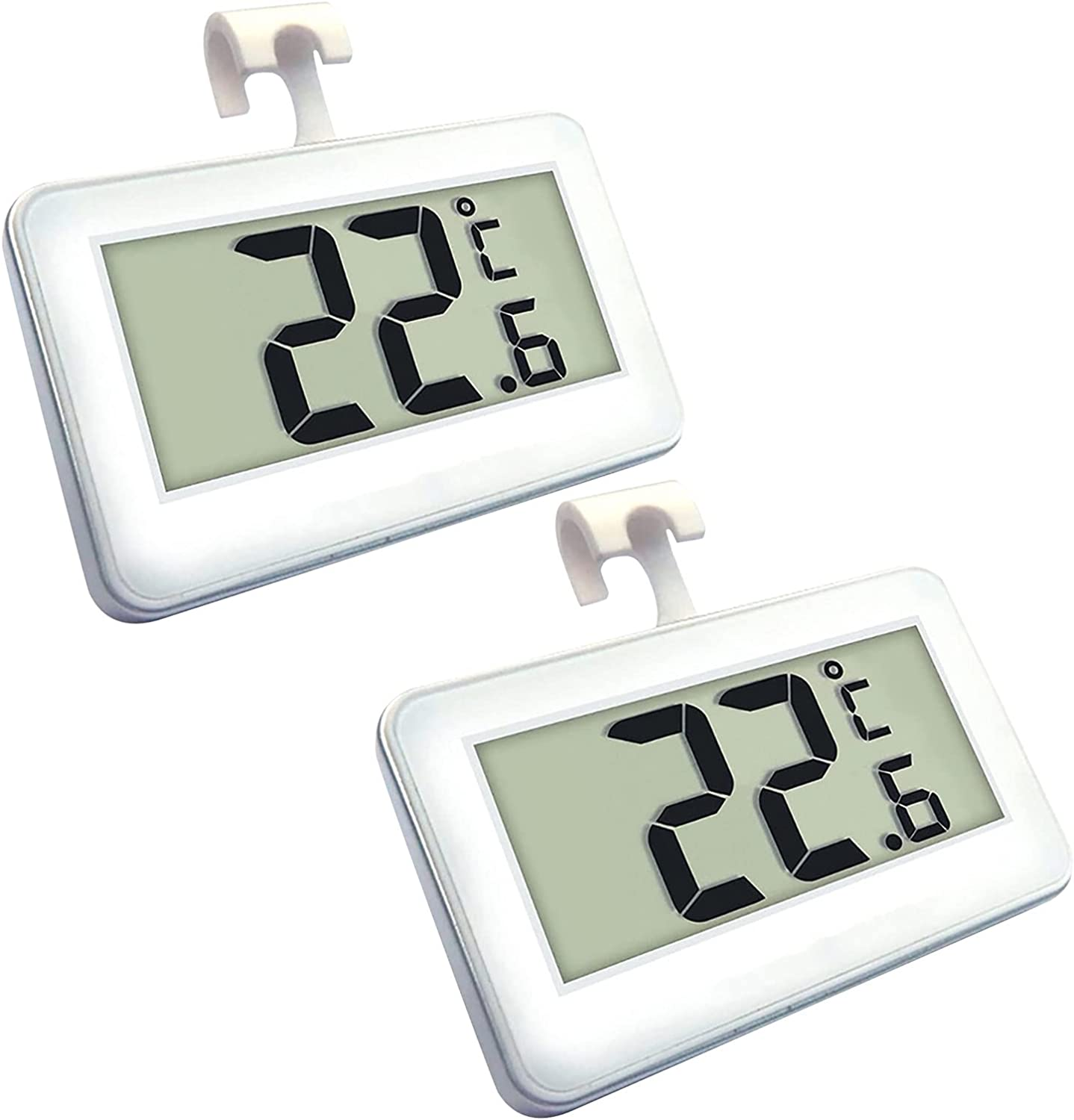 2pcs Popular overseas can Japan's largest assortment hang household digital LCD display thermometer Fahrenh