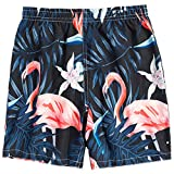 Summer Little Boys & Girl Swim Trunks Swimsuit Unisex Kids Novelty Quick Dry Surf Beach Board Shorts with Mesh Lining, 6T-7T (6-7 Years)=Tag 130
