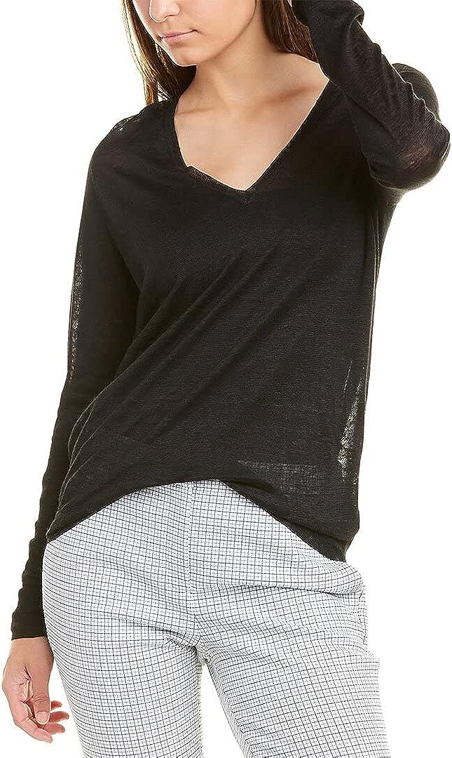 Theory Adrianna Sag Harbor Linen-Blend Sweater