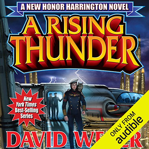 A Rising Thunder     Honor Harrington, Book 13              By:                                                                                                                                 David Weber                               Narrated by:                                                                                                                                 Allyson Johnson                      Length: 17 hrs and 56 mins     21 ratings     Overall 4.4