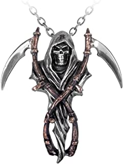 The Reapers Arms Pendant by Alchemy Gothic (Metal-Wear)