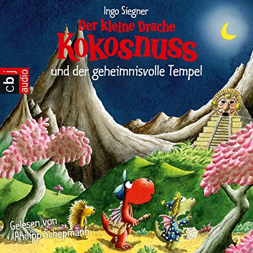 Der kleine Drache Kokosnuss und der geheimnisvolle Tempel (Der kleine Drache Kokosnuss 22) audiobook cover art