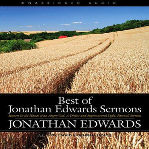 Best of Jonathan Edwards Sermons audiobook cover art