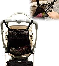 MMIAOO Baby-Trolley Netztasche, Einkaufsnetz für Kinderwagen, Netztasche auf der Rückseite des Kinderwagens, für Flaschen, Windeln, Aufbewahrungstasche für Kleinkinder, praktisches Zubehör