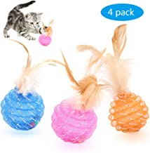 Best feather bell cat toy Reviews