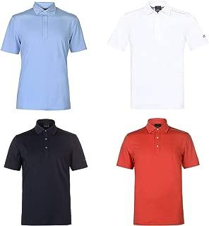 Oscar Jacobson Chap Golf Polo Shirt Mens Activewear Collar Top Tee White Small