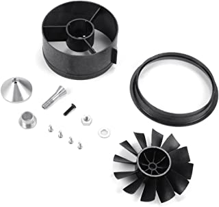 XCSOURCE 64mm Duct Housing Fan 12-Blade Prop Unit Spare Parts for RC EDF Jet Airplane RC496