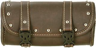 Mini Motorcycle Handlebar Bag Waterproof SaddleBag, Motorcycle Windshield Bag with Eco-Friendly Synthetic Leather