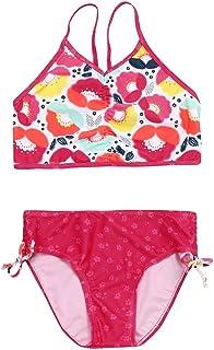 BYSTE Bambina Bikini Set,Ragazze Spiaggia Fionda Tops Costumi da Bagno Costume da Bagno Colore sfumato a Strisce Swimsuit Coordinati Beachwear Swimsuit 2Pcs Outfits