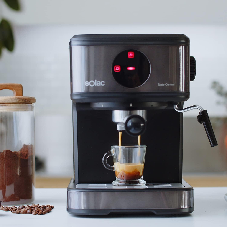 Cafetera espresso Solac CE4498 Taste Control por 84,08€ ¡¡Ahorras 56€!!
