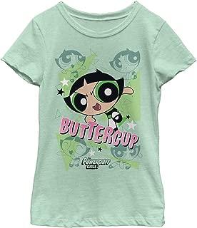 Fifth Sun The Powerpuff Girls Girls' Buttercup T-Shirt