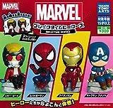 MARVEL ブレイクタイムヒーローズ 全4種セット ガチャガチャ