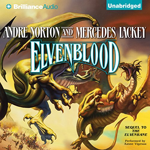 Elvenblood audiobook cover art