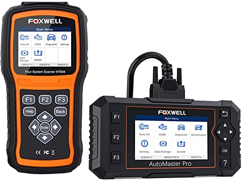 wholesale FOXWELL NT630 Plus OBD2 Scanner and NT644 Elite Car Scanner outlet online sale All System with 19 wholesale Reset Service Functions sale