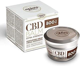 Hemps Pharma - CBD Balm Extra Strength | CBD Creme 800 mg Cannabidiol zur Linderung von Muskel- und Gelenkschmerzen - 50 ml