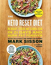 Keto Reset Diet book cover