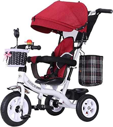 alta calidad y envío rápido YINGH YINGH YINGH - Triciclo para Niños 1-3 años cochecito de tres ruedas bebé 2-6 años de edad, la bicicleta del Niño  ahorre 60% de descuento