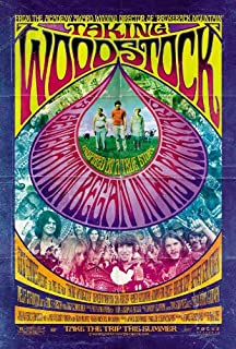 TAKING WOODSTOCK MOVIE POSTER 2 Sided ORIGINAL 27x40 ANG LEE