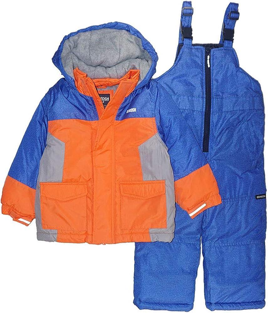 OshKosh B'Gosh Boys' Ski Jacket and Snowbib Snowsuit Set