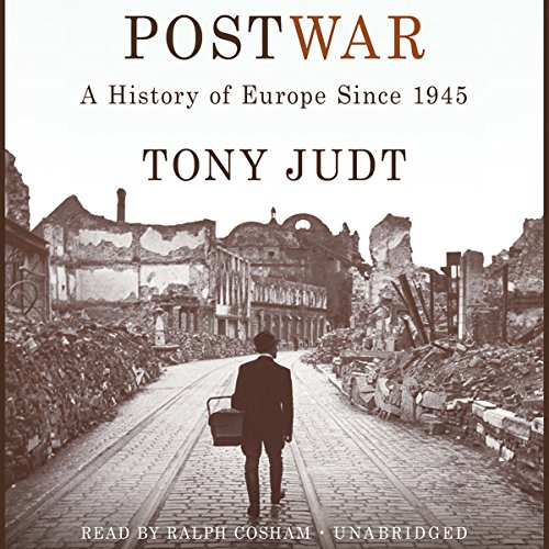 Postwar: A History of Europe Since 1945 audiobook cover art